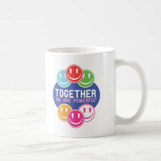 TOGETHER Faces Classic White Coffee Mug