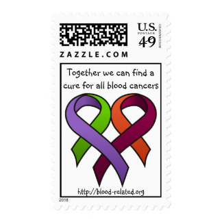 Together for a Cure  Postage Stamp