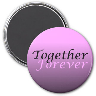 Together Forever (05) Round Magnet