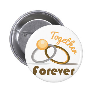 Together Forever 2 Inch Round Button