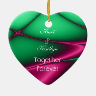 Together Forever Ceramic Ornament