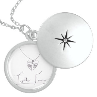 Together Forever, daughters & dad Necklaces