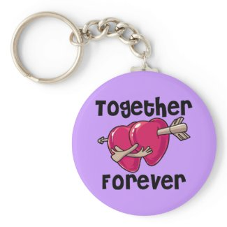Together Forever keychain