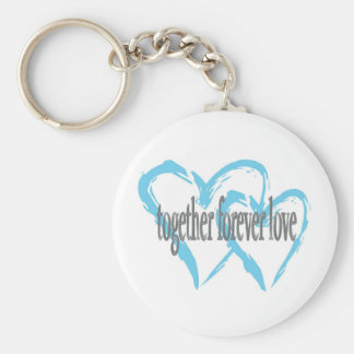 Together Forever Love Key Chain