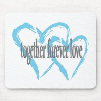Together Forever Love Mouse Pad