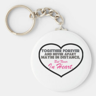 Together Forever & Never apart....... Keychain