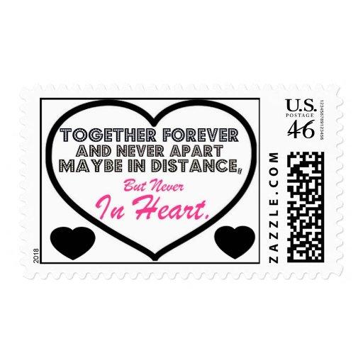 Together Forever & Never apart....... Postage