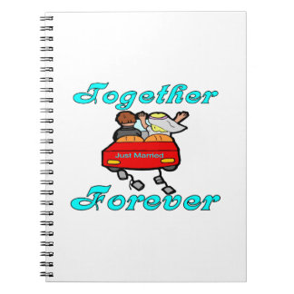 Together Forever Newlyweds Notebook