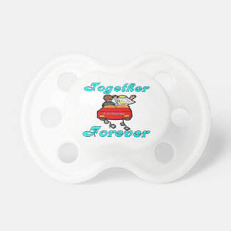Together Forever Newlyweds Pacifier