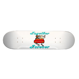 Together Forever Newlyweds Skateboard Deck