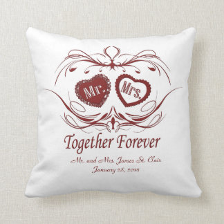 Together Forever | Personalized Pillow