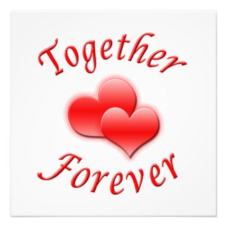 Together Forever Photo Print