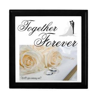Together Forever /Proposal Keep Sake Gift Box