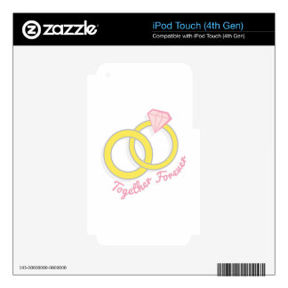 Together Forever iPod Touch 4G Skin