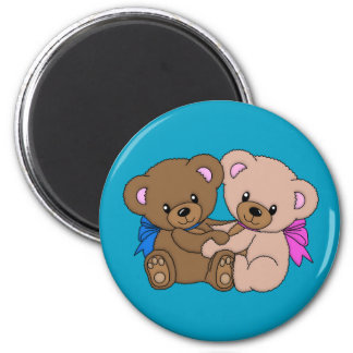 Together Forever Teddy Bear Magnet