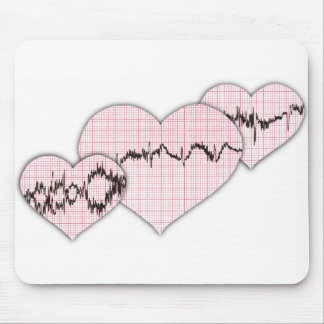 Together Hearts Mouse Pad