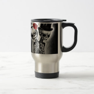 Together in Death 15 Oz Stainless Steel Travel Mug