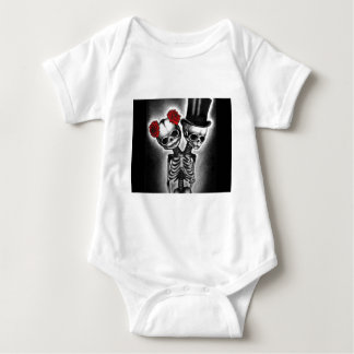 Together in Death Baby Bodysuit