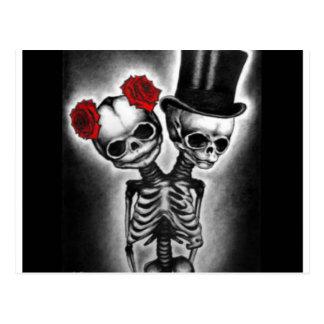 Together in Death Postcard