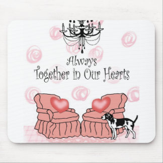Together In Our Hearts Mouse Pad