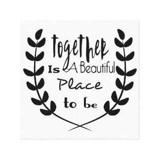 Cute Quote Wrapped Canvas Prints Zazzle