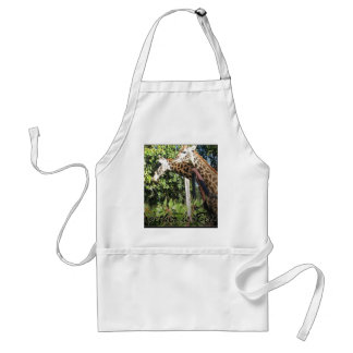 Together is Better-Giraffes Adult Apron