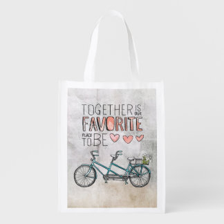 Together Is Our Favorite Place To Be | Blue Bike Market Tote