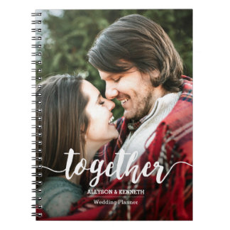 Together Photo Template Hand Lettered Typography Notebook