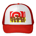 Together - Red Cap Hats