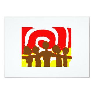 Together Red Invitation