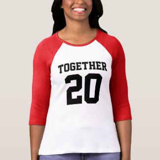 Together since 2015 t-shirts