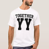 Together Since Wedding Anniversary (TOGETHER) T-Shirt