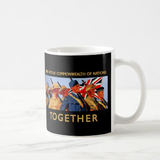 Together ~ The British Commonwealth of Nations Coffee Mug