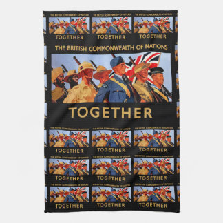 Together ~ The British Commonwealth of Nations Hand Towel