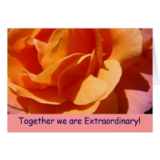 Together we are Extraordinary! Exceptional Cards