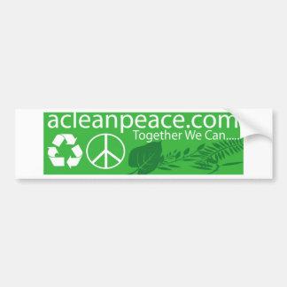 Together we can bumper sticker car bumper sticker