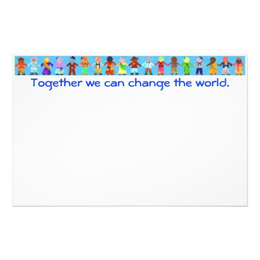 essay on how can we bring change the world