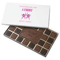 Together we can fight breast cancer assorted chocolates