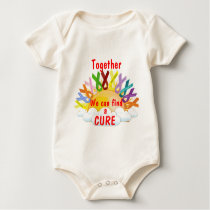 Together we can find a CURE Baby Bodysuit