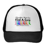 Together We Can Find A Cure Cancer Hats