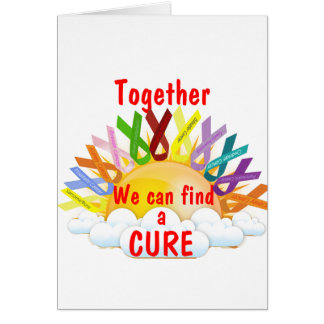 Together we can find a CURE Card