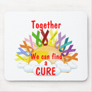 Together we can find a CURE Mouse Pad