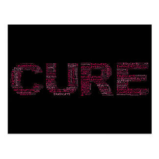 Together We Can Find a Cure (Pink Text) Postcard