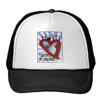 Together we can Heal - Support Haiti Trucker Hat