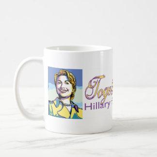 Together We Can! Hillary Mug