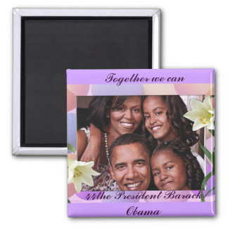 Together We Can_Magnet 2 Inch Square Magnet