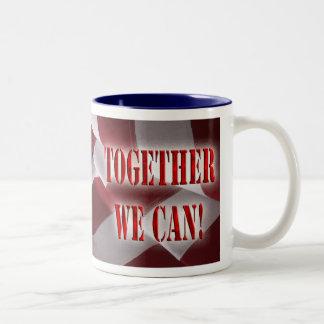 Together We Can Two-Tone Coffee Mug