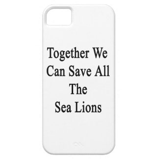 Together We Can Save All The Sea Lions iPhone SE/5/5s Case