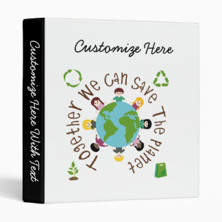 Together We Can Save the Planet Binder