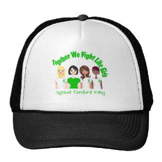 Together We Fight Like Girls Cerebral Palsy Trucker Hat